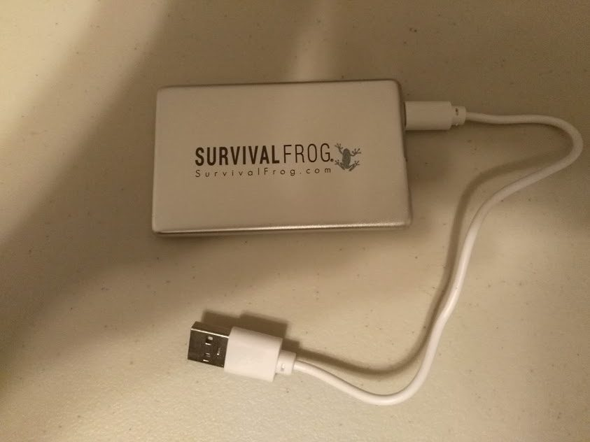 Survival Frog Power Card Charger Review